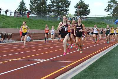 D1 Girls' 3200 Meters Final - 2014 MHSAA LP T&F FInals