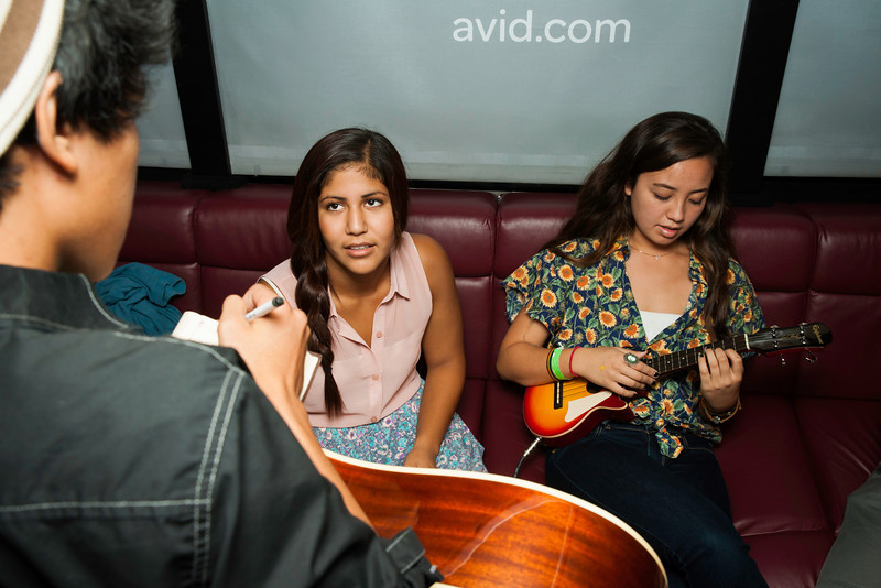 2012_10_18, Student Recording Session, Torrance, CA, West High School, Recording Session, JLETB, Avid