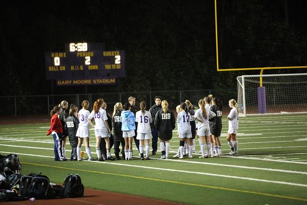 2010-10-12 IHS Girls Soccer vs Eastlake