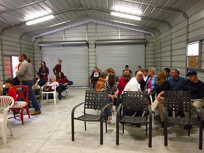 First meeting of Christ's Fellowship