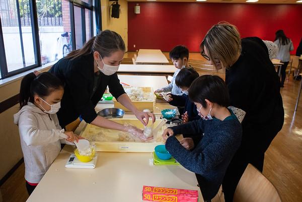 Making Onigiri for the Chiku Center