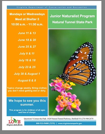 Junior Naturalists - Summer 2018