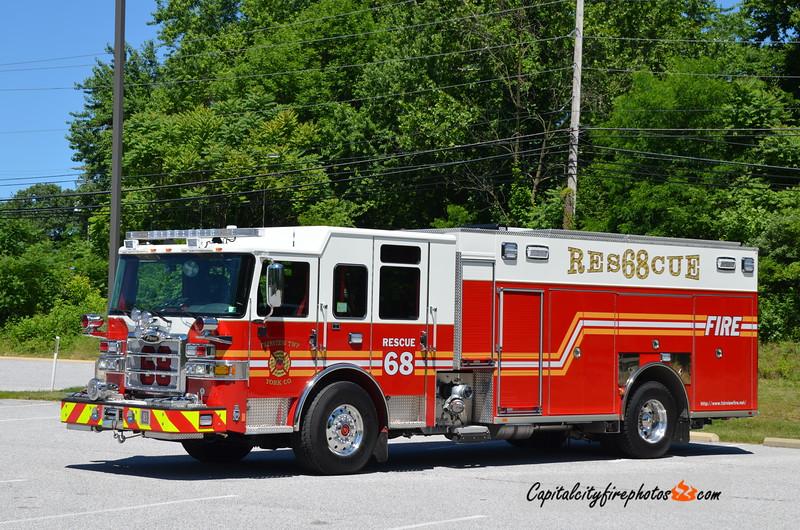 """Fairview Township Rescue 68: 2018 Pierce Enforcer """"PUC"""" 1500/600"""
