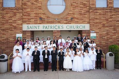 San Patricio Comuniones