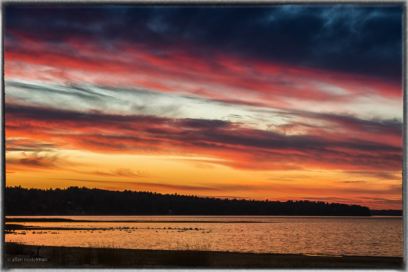 November 5th Sunset in Constance Bay
