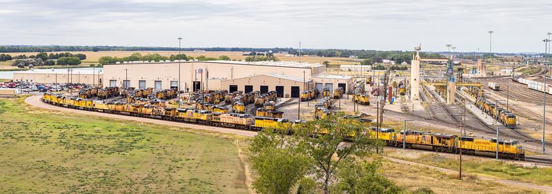 Union Pacific Bailey Yard, North Platte Nebraska