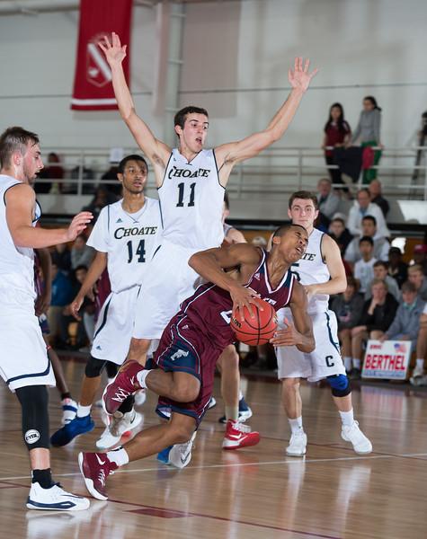 12/7/16: Boys' Varsity Basketball v Choate