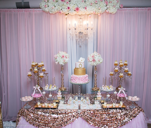 Pink Royal Baby Shower