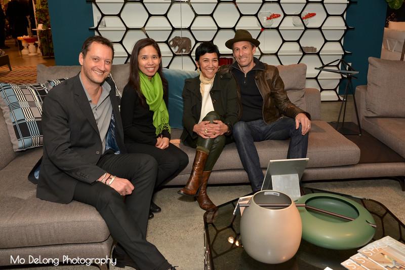 Stephane Pagani, Lisa Boquiren, Monica Reskala and Chris Weiss