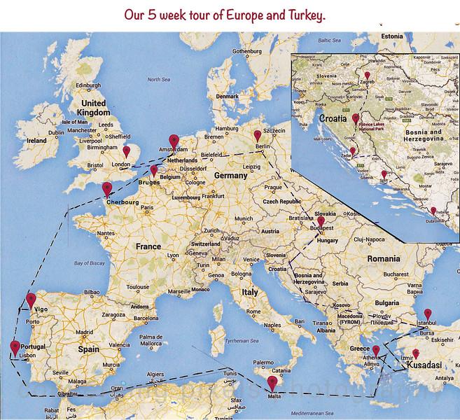 Europe and Turkey 2014.