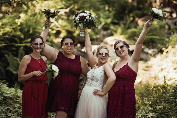 4 bridal party
