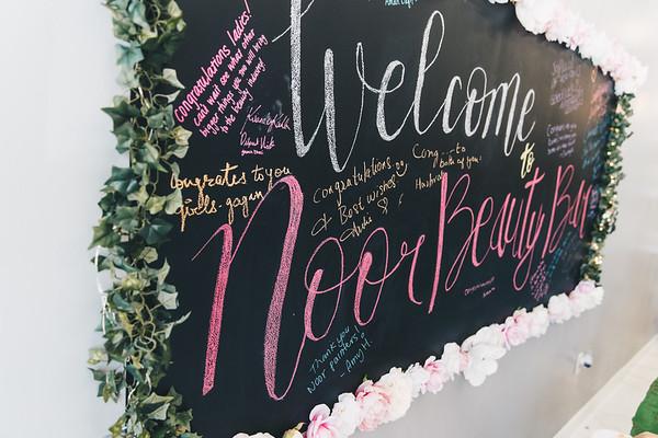 Noor Beauty Bar Grand Opening
