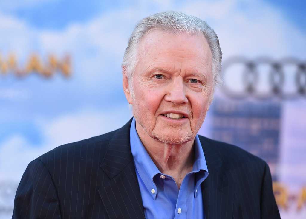 """. Jon Voight arrives at the Los Angeles premiere of \""""Spider-Man: Homecoming\"""" at the TCL Chinese Theatre on Wednesday, June 28, 2017. (Photo by Jordan Strauss/Invision/AP)"""