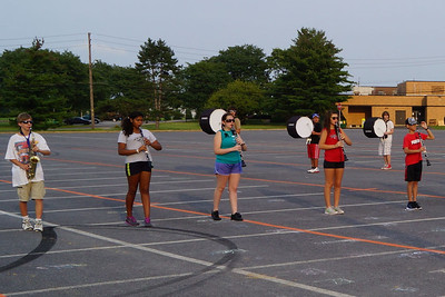 First Week of Band Camp 8-14-2012