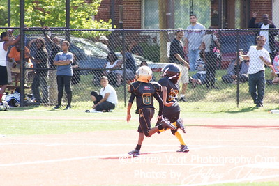 09-15-2012 Lamond Riggs Steelers vs Montgomery Village Sports Association  Mighty Mites, Photos by Jeffrey Vogt Photography