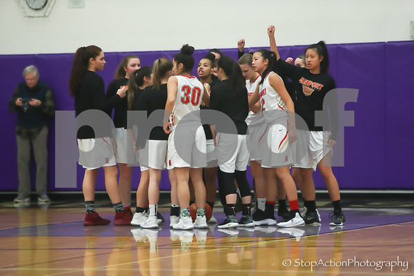 2018-02-13 Issaquah Girls Basketball vs Newport