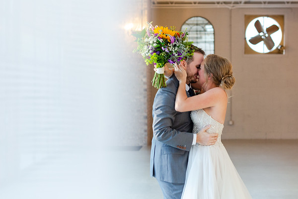 Mallory & Brian | Joyful & Intimate Wedding at Chatham Station in Cary, NC