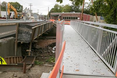 Fitchburg Bridge Work, Oct. 1, 2019