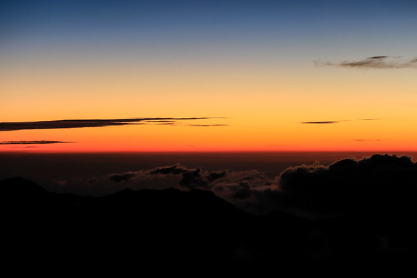 Maui Haleakala Crater Sunrise