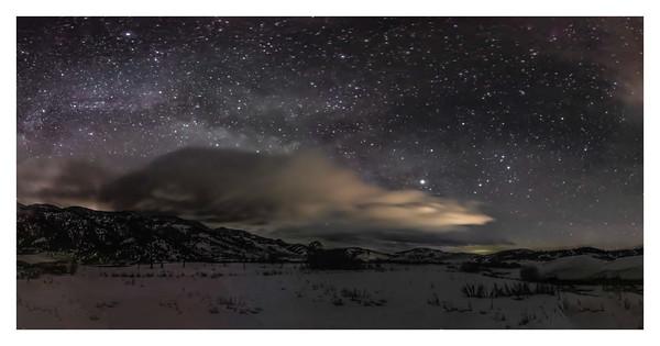 Night Skies over the Portneuf Valley, Idaho