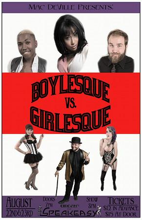 Boylesque vs Girlesque (08-22-14)