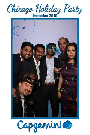Capgemini Holiday Party Mirror Booth 2019