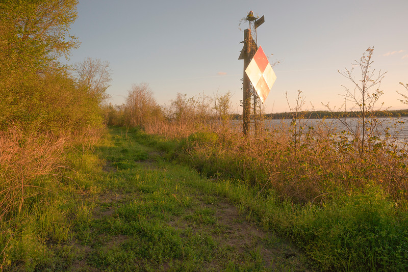 Mississippi River Mile Marker