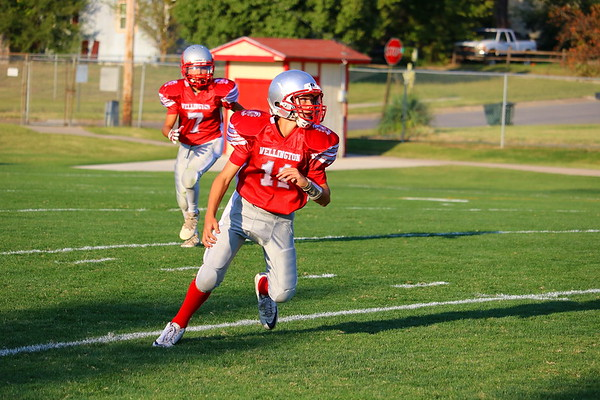 WMS 7/8 FOOTBALL vs Ark City  091417