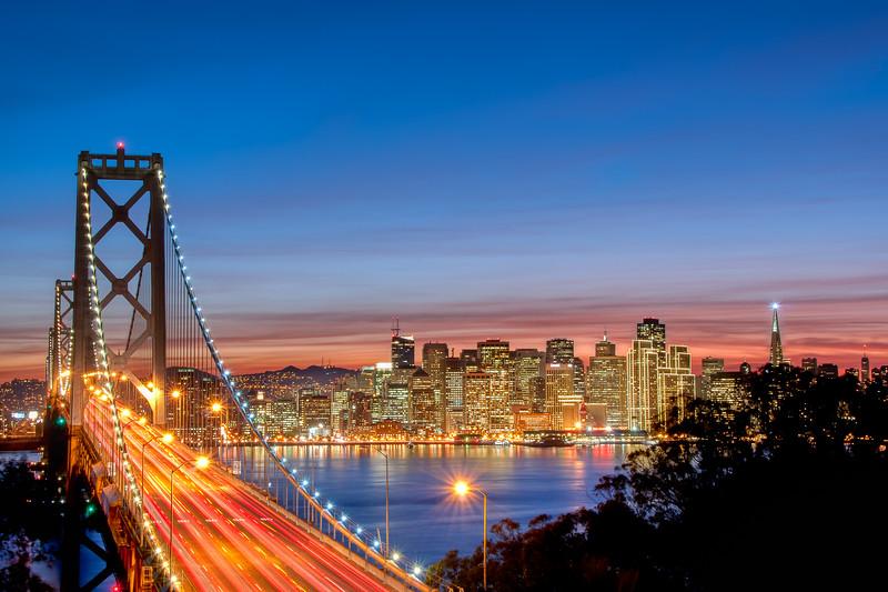 Bay Bridge View of San Francisco