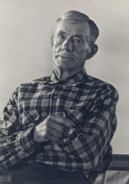 Frank Trogdon Aug 1953. Mom's father