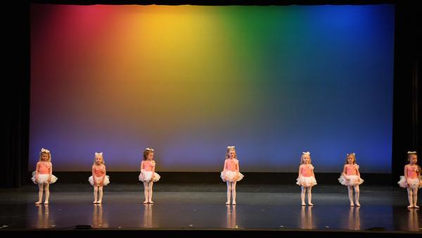 Dance Fundamentals 3-4yrs Monday PM