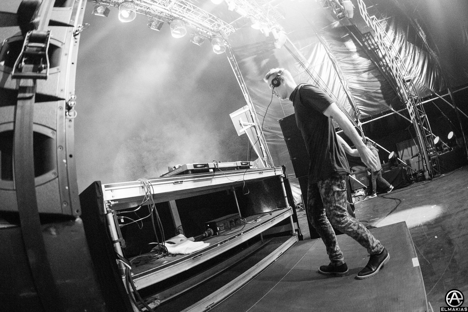 Photo of Diplo at Mysteryland in Bethel Woods, NY by Adam Elmakias