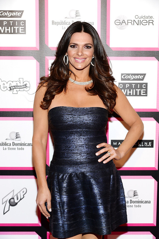 . Journalist Barbara Bermudo attends People En Espanol\'s 50 Most Beautiful 2013 at Marquee on May 13, 2013 in New York City.  (Photo by Dimitrios Kambouris/Getty Images for People en Espanol)