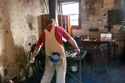 Steven Schroeder the Bearded Blacksmith