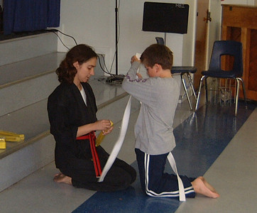 01.15.2001 Max Karate Yellow Belt Test