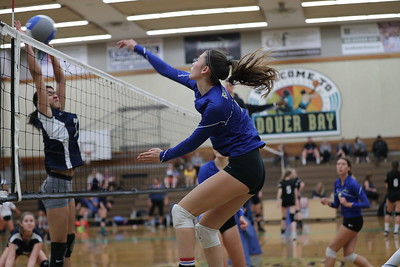 Dover Sr. Girls Volleyball (September 21, 2019)