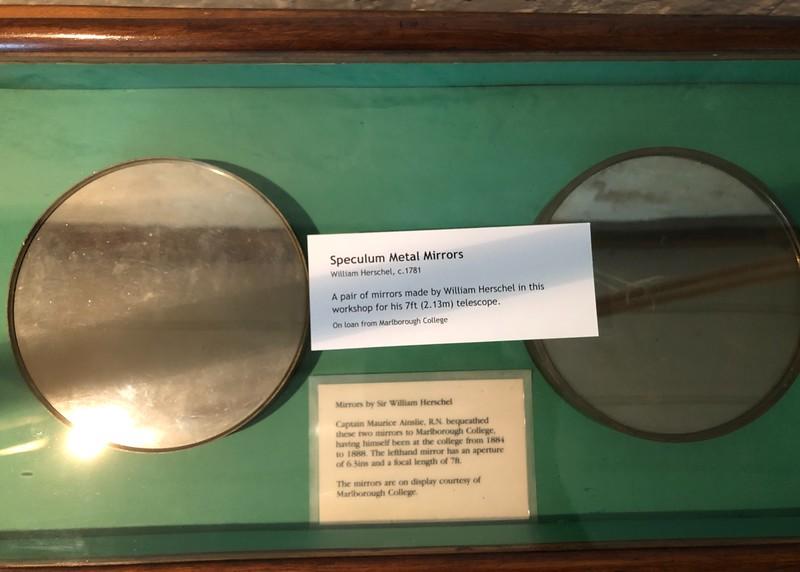 At the Herschel Museum