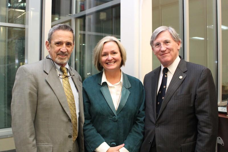 Judge Fishburn, Wendy Longmire & Dean Koch