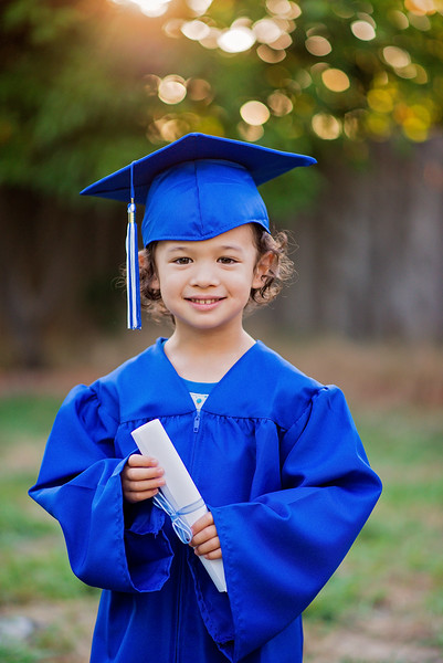 Donovan's Preschool Grad Portraits {June 2016}