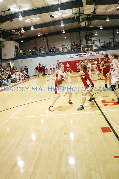 Lawson Basketball vs Gallatin Girls LIT 08