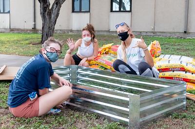 University Counseling Center Partners with Islander Green Team for New Sensory Garden