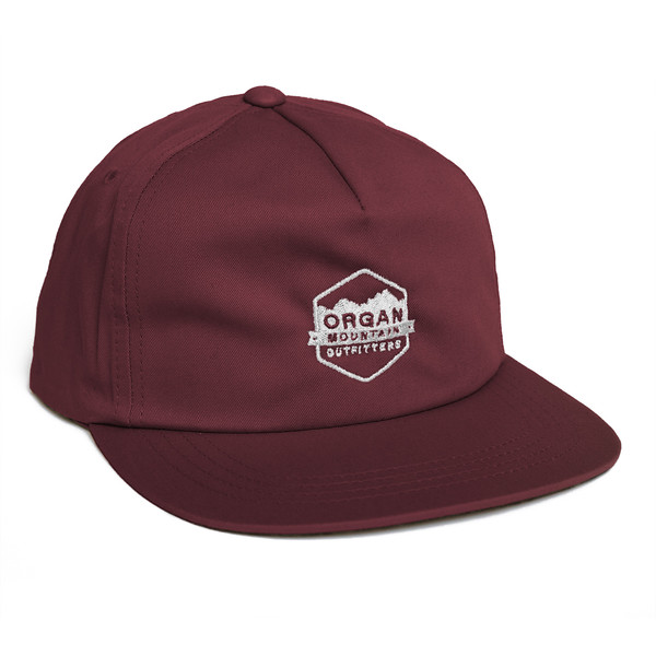 Outdoor Apparel - Organ Mountain Outfitters - Hat - Classic Snapback - Maroon.jpg