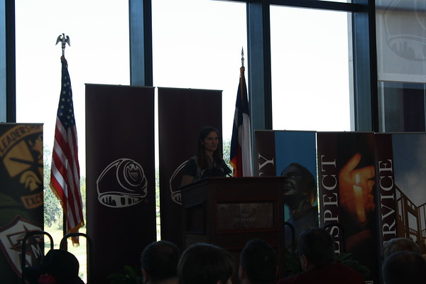 Jackie Price Dunn '02 Aggie Ring Dedication