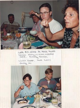 7-21-1993 Swab, Galardo, Conn Dinner