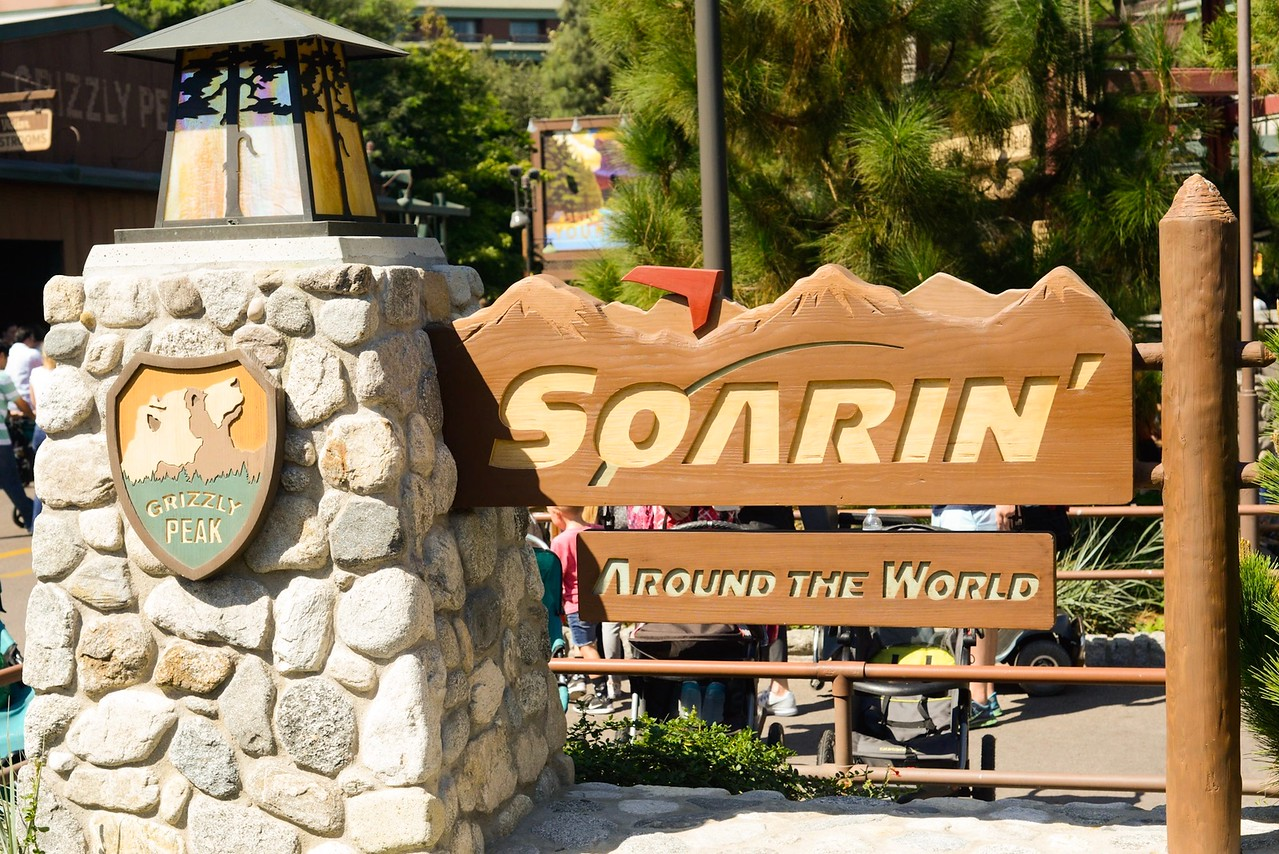 Soarin' Around the World at DCA