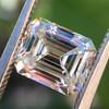 1.83ct Vintage Emerald Cut Diamond GIA F VVS2 21