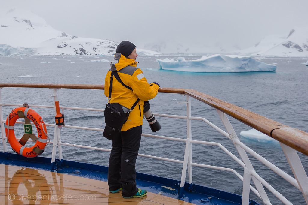 Can you go to Antarctica - Lina Stock