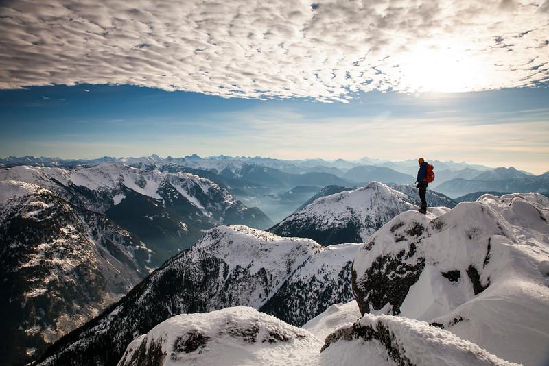 Needle Peak Summit