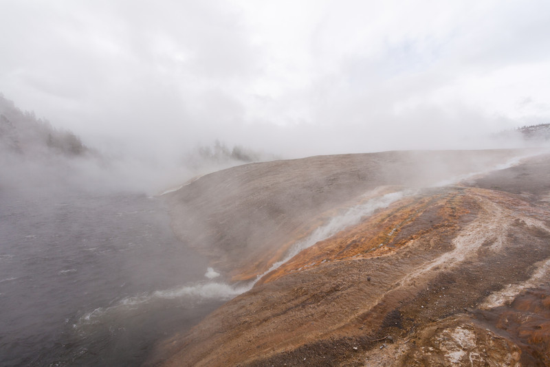 Runoff from the Excelsior Geyser Basin into the Firehole River
