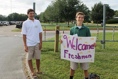 2013 Freshman Orientation 09.03.13